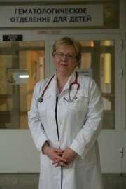 Chefärztin der Kinderhämatologie Dr. Irina Romaschewskaja