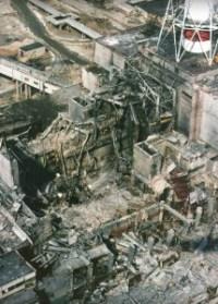 1986 Ausgebrannter Reaktor