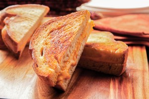 California three-cheese Grilled Cheese