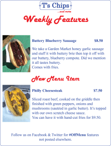 Weekly Features Jun 17 to 23, 2016