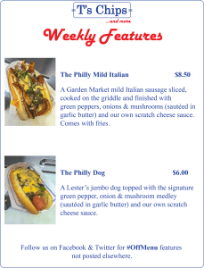 Weekly Features Jun 3 to 9, 2016