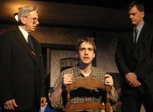 Scene from 2005 production of The Birthday Party.