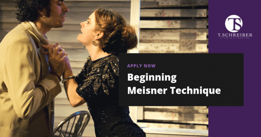 Beginning Meisner Technique, Acting Classes in NYC, Learn How to Be an Actor, Private Acting Lessons and Acting Coach