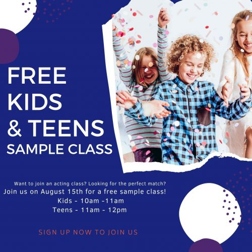 Free Kids & Teens Class
