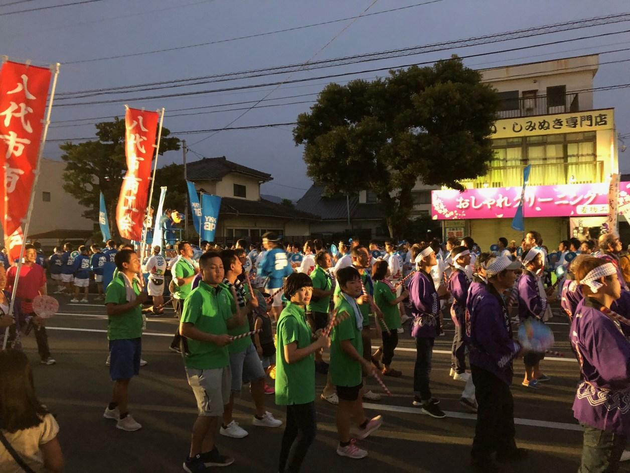 くま川祭り
