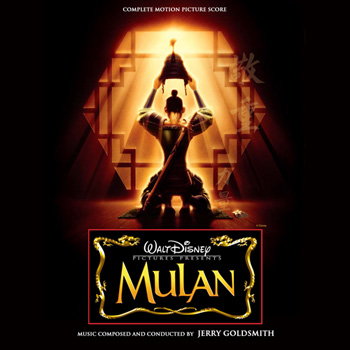 Mulan AC Jerry Goldsmith TSD Front Covers