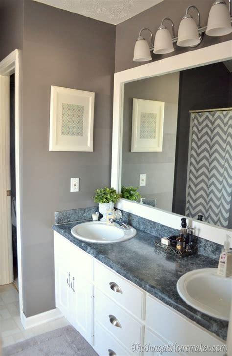 frame builder basic bathroom mirror 20