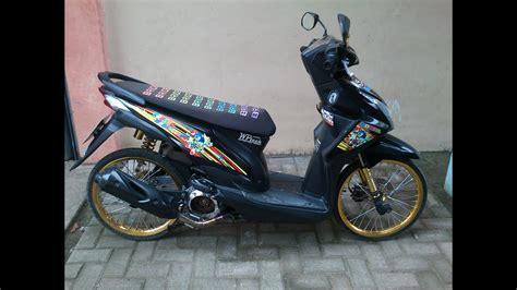 racing motorcycle honda beat modifikasi thai 3