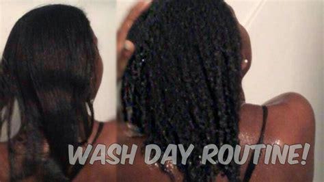 watch hair revert straight curly wash day routine