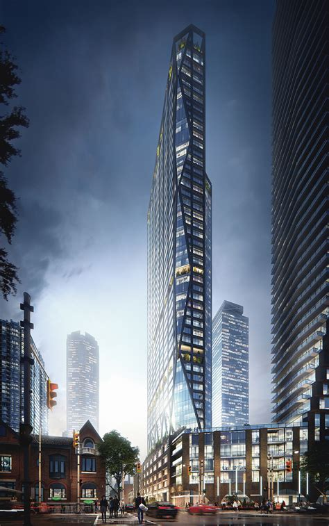 architectural visualization skyscraper project toronto adelaide lunas