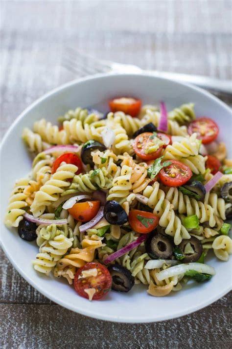 quick easy pasta salad britnell