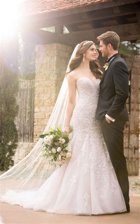 mermaid wedding dresses sparkling mermaid wedding gown essense