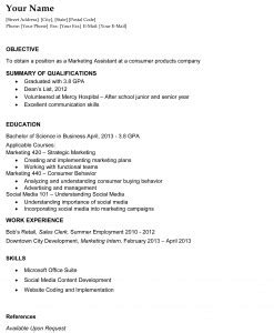 college graduate resume resume template site