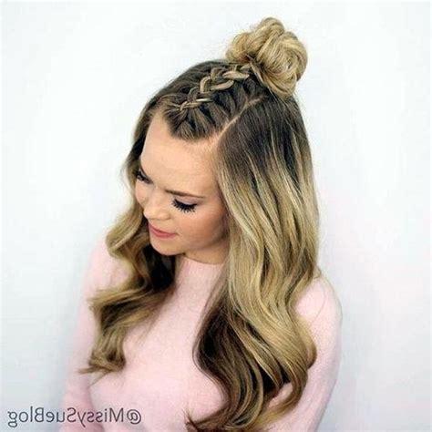 15 photo cute hairstyles thin long hair