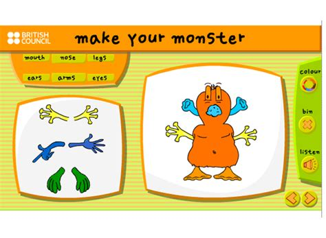 monster learnenglish kids british council