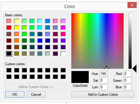 set default location popup color picker html 5