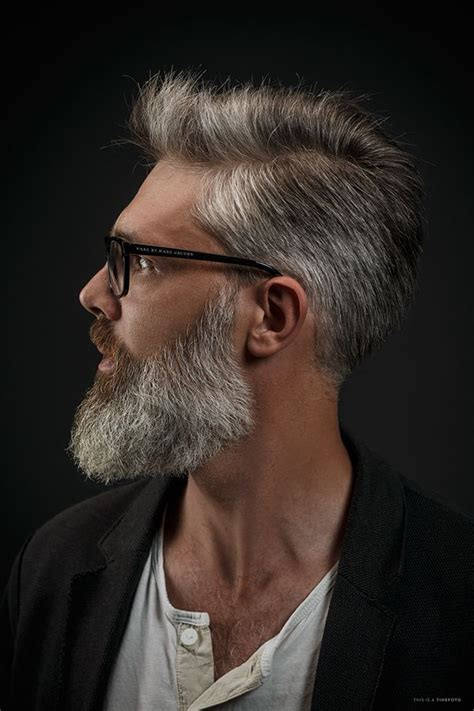 25 grey beards ideas pinterest thick beard long