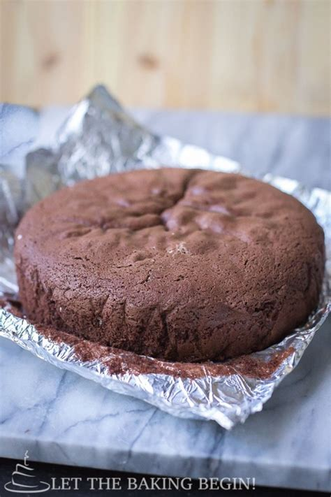perfect chocolate sponge cake baking