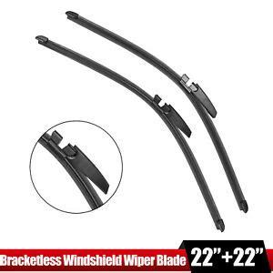 pair 22 front windshield wiper blade audi a4