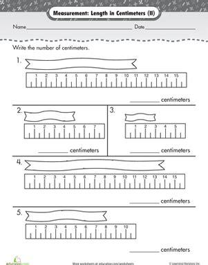 measurement length centimeters images math measurement measurement worksheets