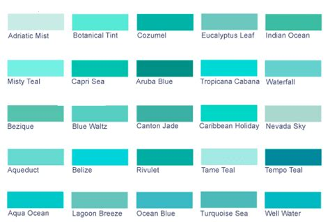 sh yn design list colors