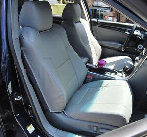 acura tl 2004 2008 grey leather custom fit