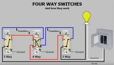 wire 4 switch system replace 3 light switches