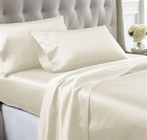 satin sheets cool nights sleep home decor