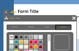 key features html form builder online php form