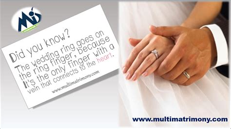 wedding ring ring finger multimatrimony tamil matrimony blog
