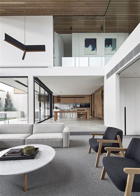 expansive family home melbourne suburb curated minimalism