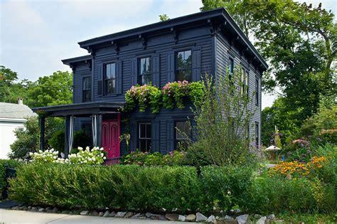 reimagining victorian 2020 black house exterior house paint