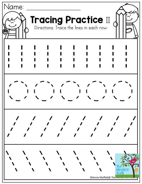 school packets tracing worksheets preschool preschool tracing preschool