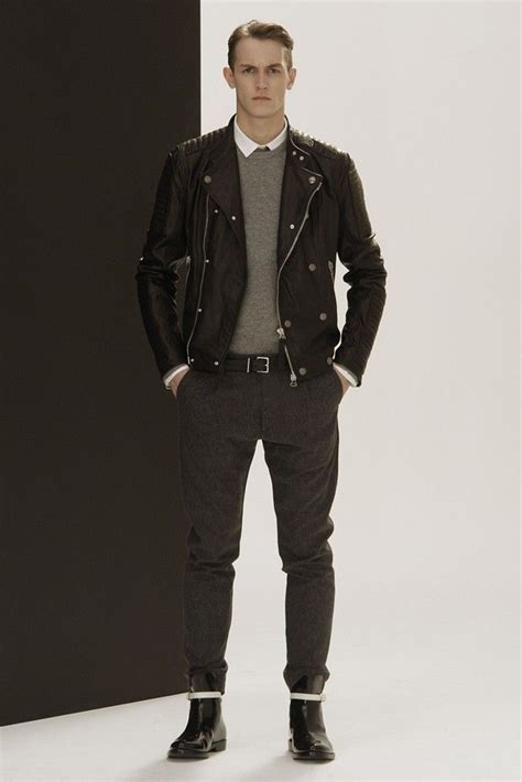 pierre balmain men rtw fall 2013 dressed men