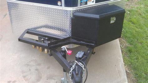 55 enclosed motorcycle trailer images pinterest toy hauler