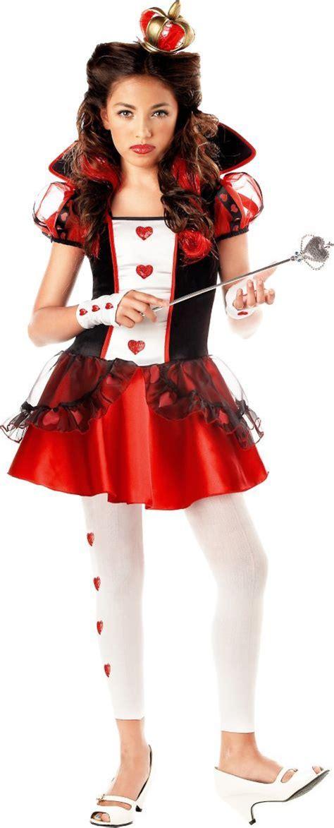 teen girls queen hearts costume valentines day costumes