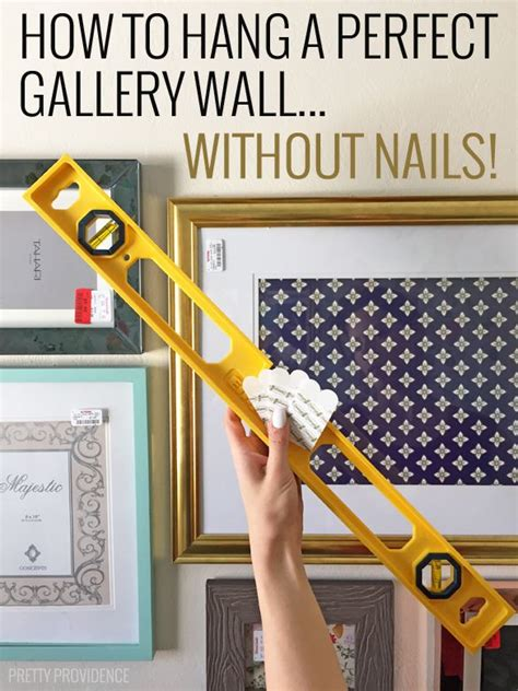 hang perfect gallery wall nails gallery wall hanging
