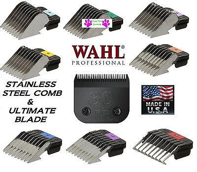 wahl ultimate 30 clipper blade metal attachment guide