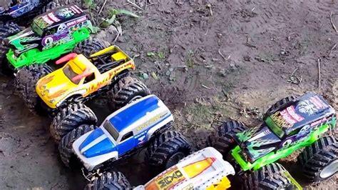 playing backyard monster trucks 2017 youtube