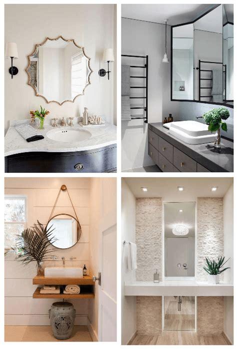 27 bathroom mirror ideas style small bathroom mirrors