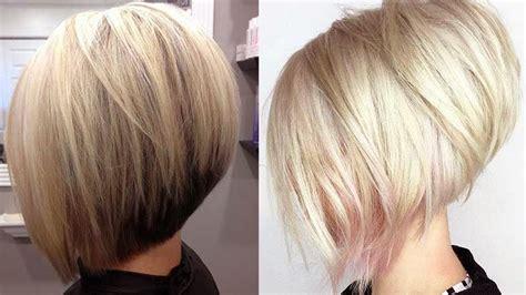 trending short stacked bob haircut ideas youtube