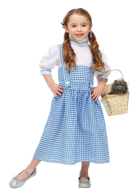 toddler dorothy costume girls wizard oz character costumes