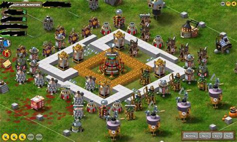 backyard monsters free online tower defense game