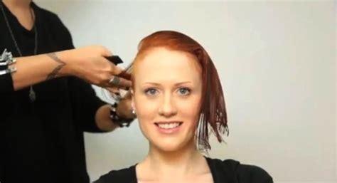 undercut bob model haircut stories