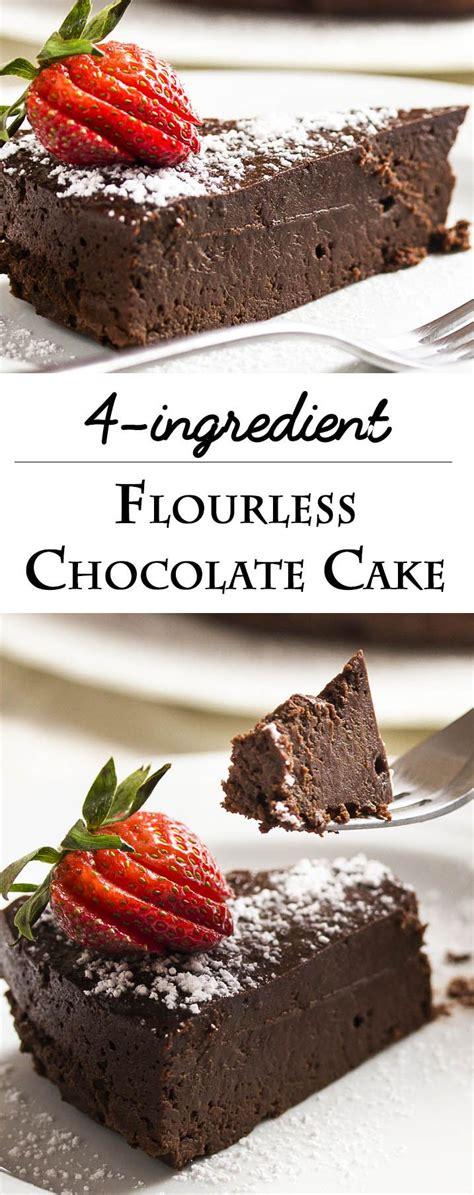 easy flourless chocolate cake recipe flourless chocolate flourless