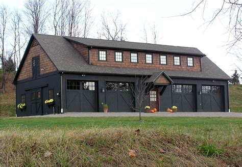 barn homes garages images garage apartment plans metal