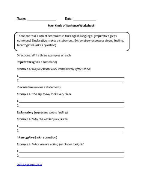 Worksheets For English Grammar Grade 8.html