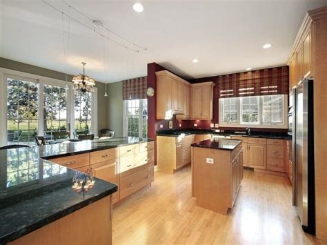 light wood floors kitchen cabinets kitchen wall colors