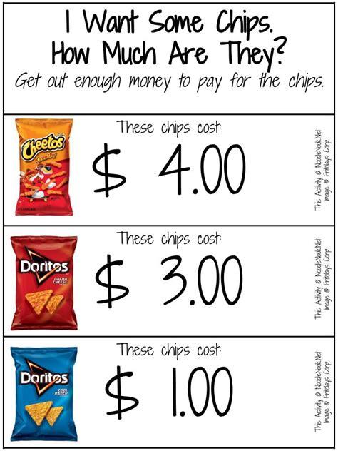 free money math printable noodlenook