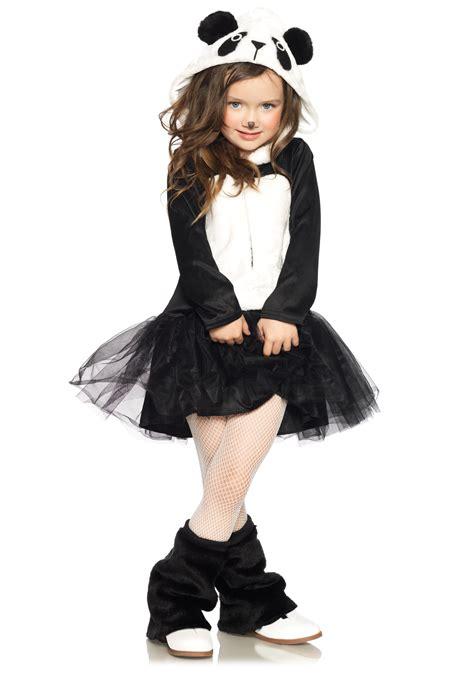 girls pretty panda bear costume
